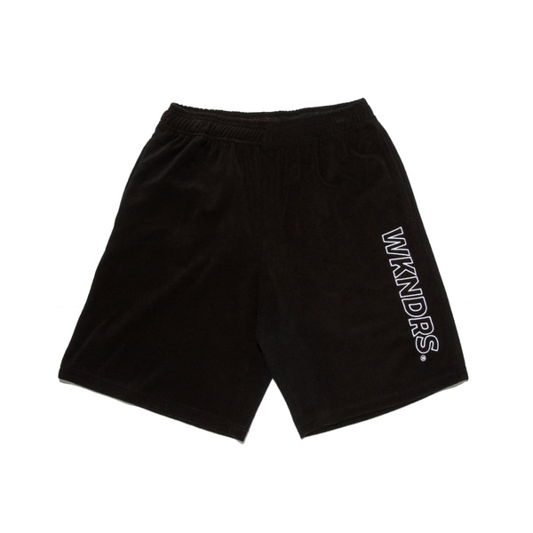 TOWEL SHORTS (BLACK)