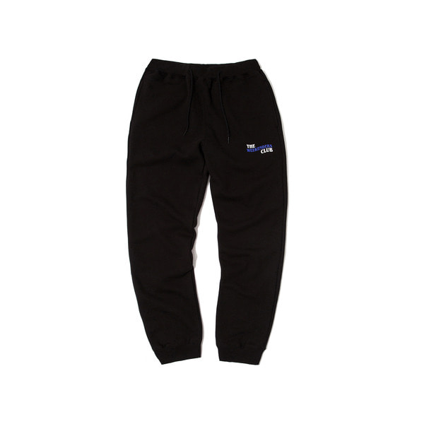 THE WEEKENDERS SWEAT PANTS (BLACK)