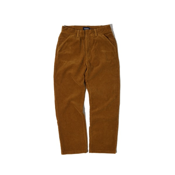 CORDUROY PANTS (BROWN)