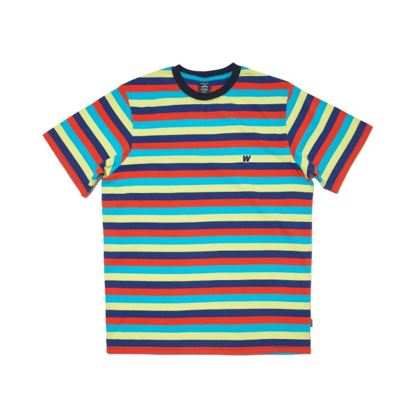 RAINBOW SS T-SHIRT (NAVY)