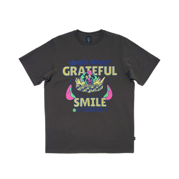 MAGIC SPELL SS T-SHIRT (CHARCOAL)