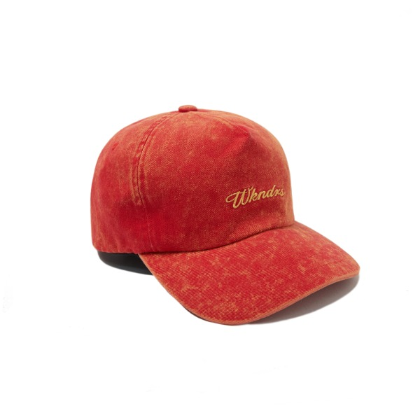 SNOW WASH CAP (RED)