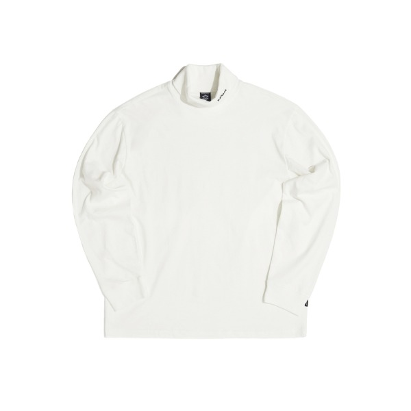 LONG SLEEVE TURTLE NECK (WHITE)